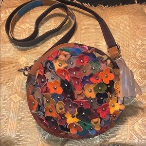 Handbags - Floral crossbody bag